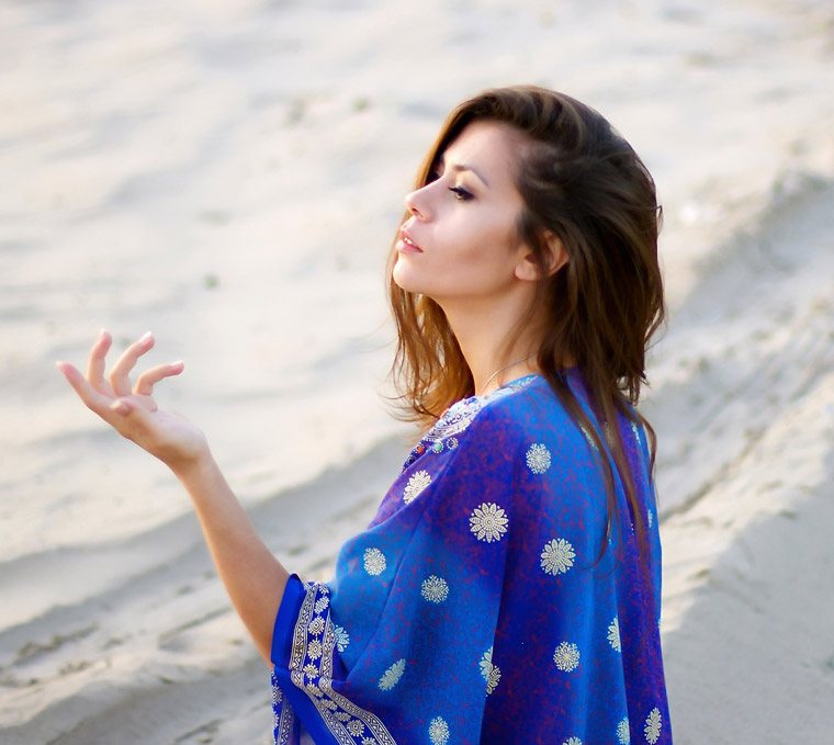 Mixed Asian Girl